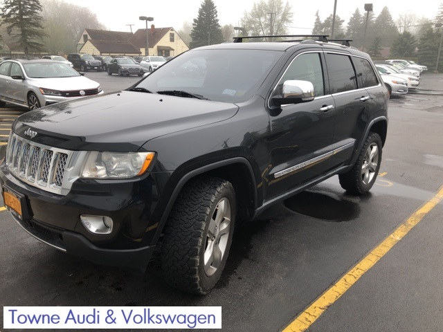 Jeep Grand Cherokee Overland >> Pre Owned 2012 Jeep Grand Cherokee Overland 4wd