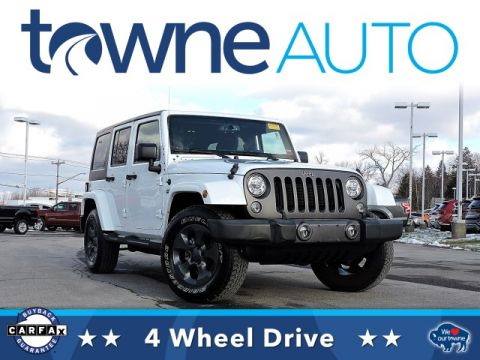 Pre-Owned 2017 Jeep Wrangler Unlimited Freedom Edition