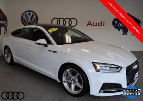 Pre-Owned 2019 Audi A5 2.0T Premium Plus